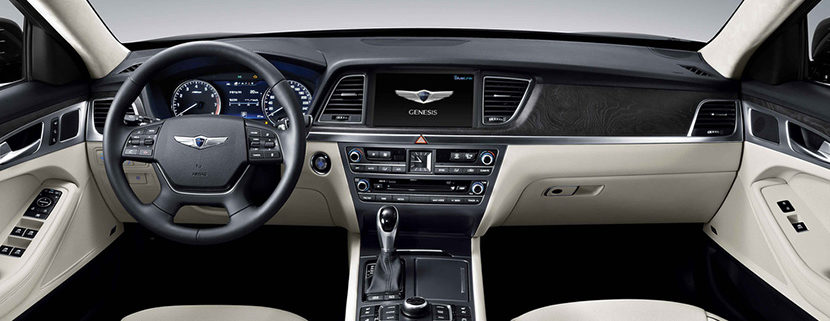 Прокат седана Hyundai Genesis без водителя