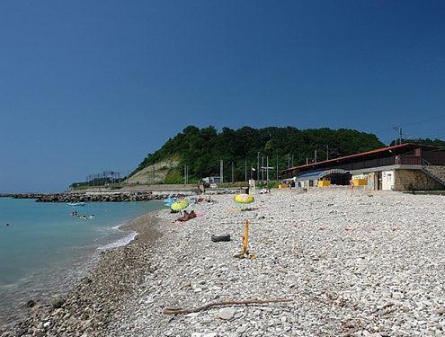 Пляжи Сочи. Пляж поселка «Макопсе»