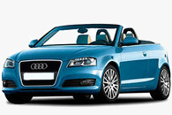 Audi A3 cabrio 2015 blue