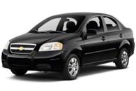 Chevrolet Aveo black 2011
