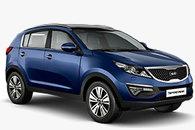 Kia Sportage 2015 blue